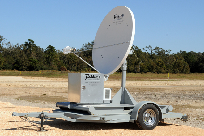 communications dish