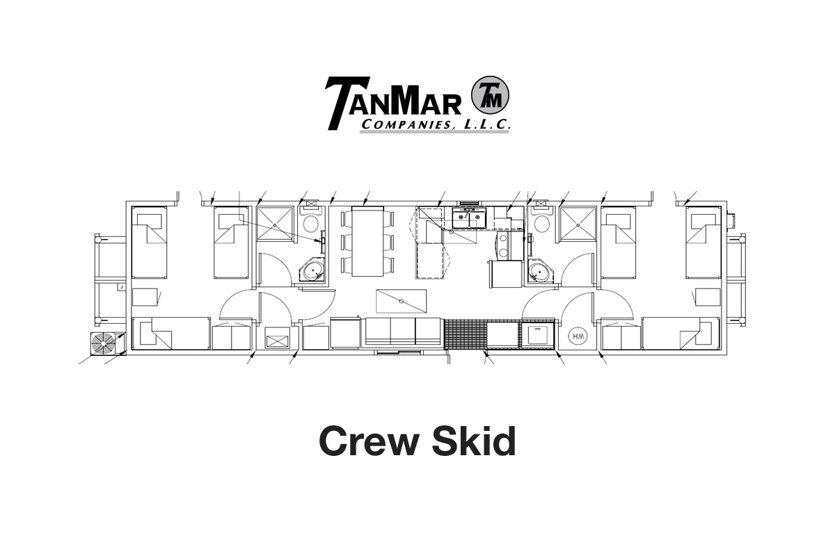 Rentals: Skid Mounted Houses | TanMar Companies, LLC.